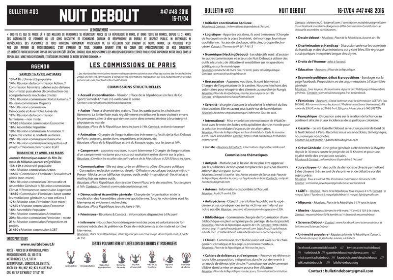 Bulletin Debout #47mars-#48mars