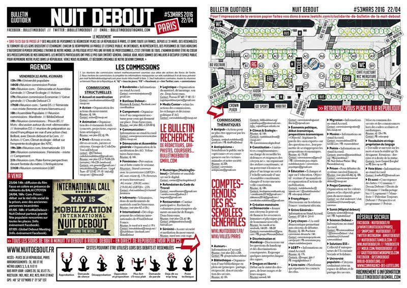 Bulletin Debout #53mars