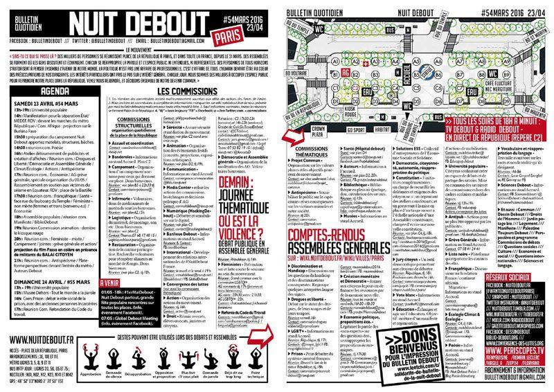Bulletin Debout #54mars