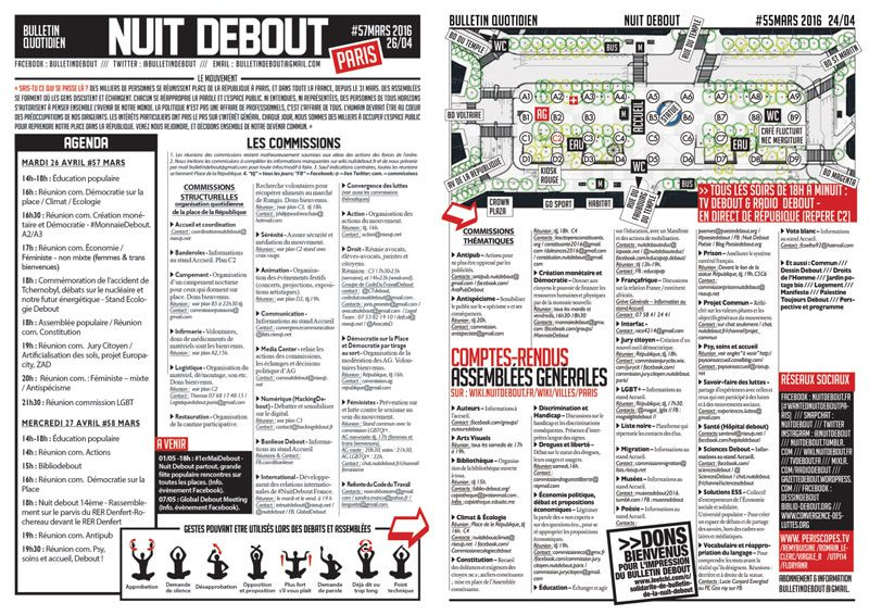Bulletin Debout #57mars