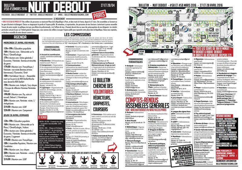Bulletin Debout #58mars-#59mars