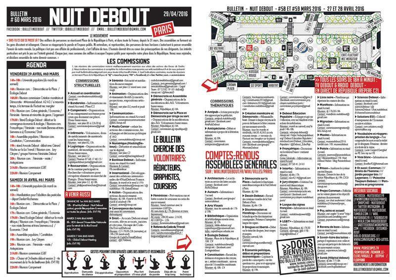 Bulletin Debout #60mars