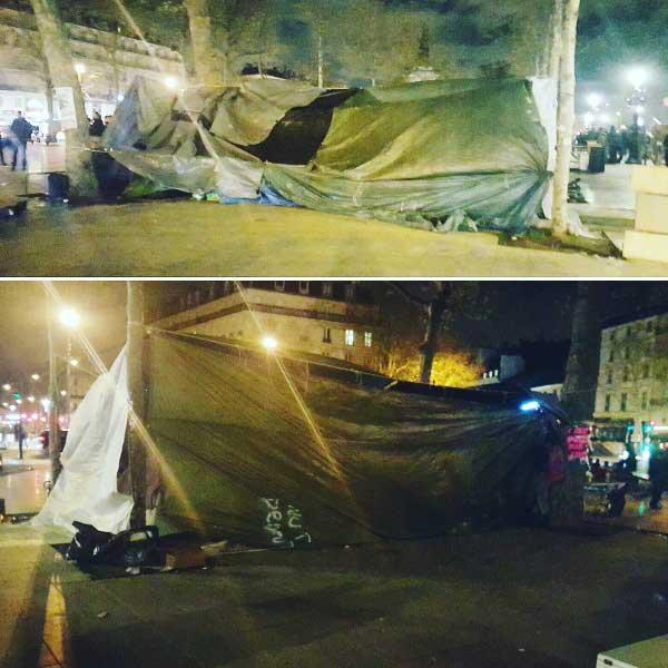 Campement République 46mars