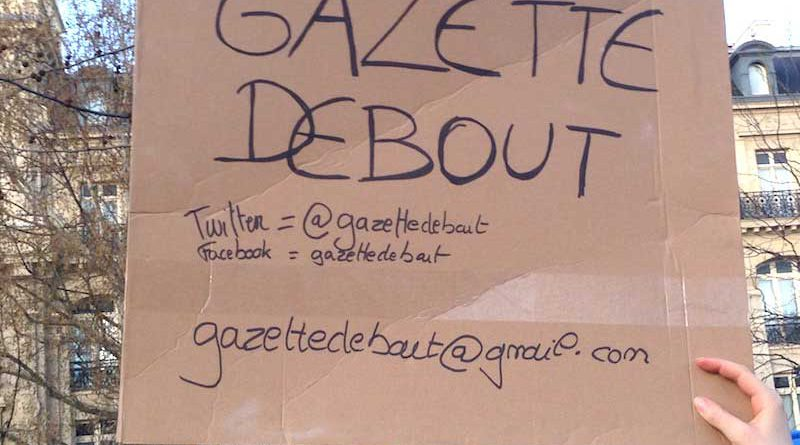 Contacter Gazette Debout