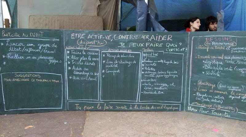 Nuit Debout Lyon - Etre actif