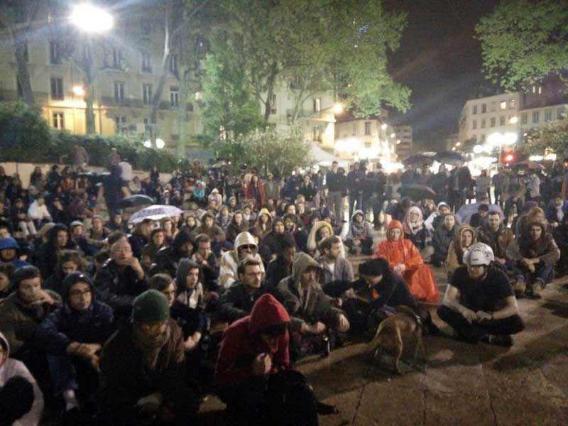 Nuit Debout Lyon