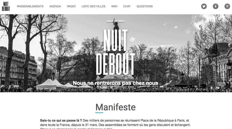page manifeste