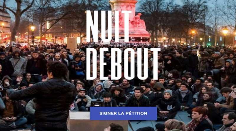 Signez la pétition de Nuit Debout