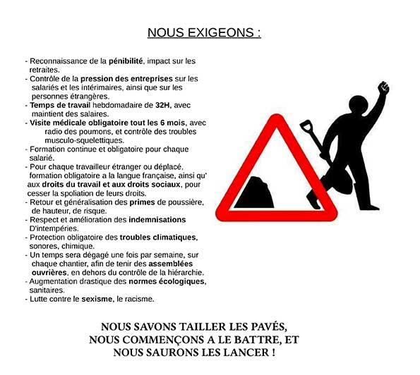 Tract Pierreux Debout