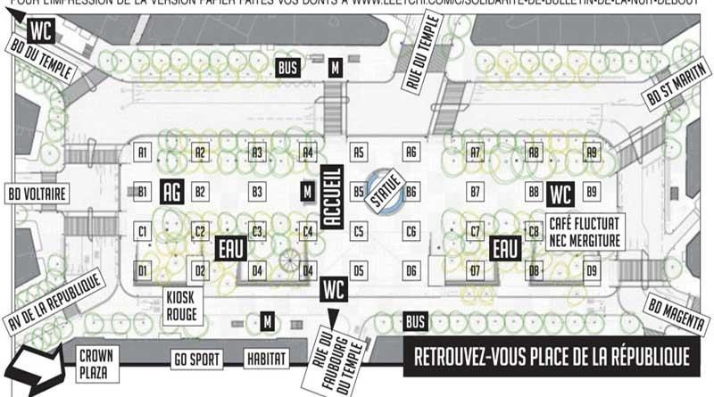 Plan de Nuit Debout République