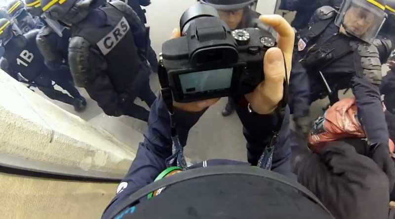 Vidéo bavure CRS
