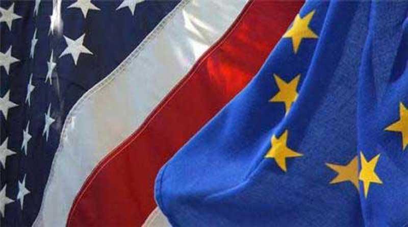 Drapeaux USA/EU