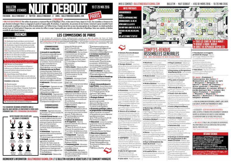 Bulletin Debout #80mars-#81mars