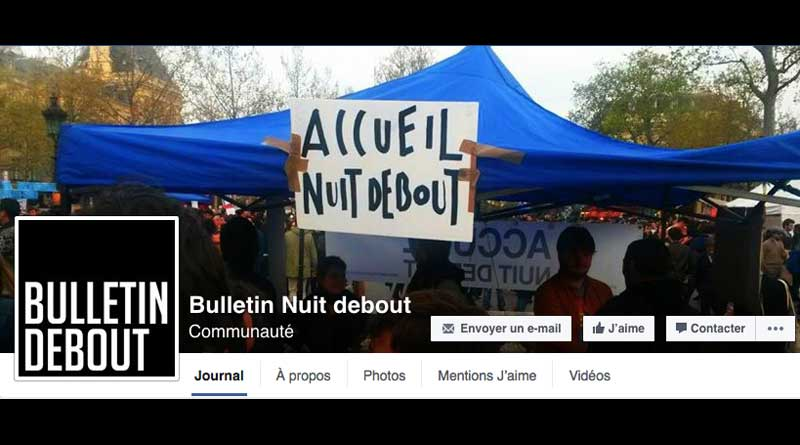 Bulletin Debout Accueil