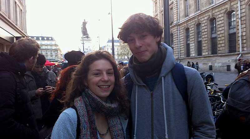 Etudiant Nuit Debout