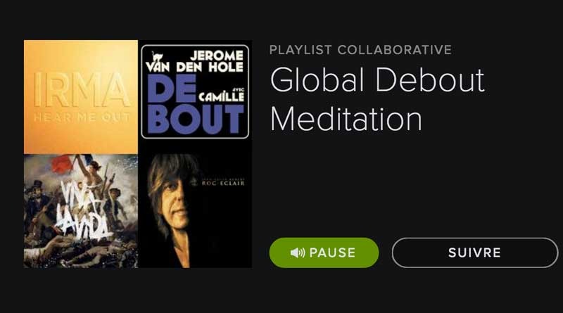 Global Debout Méditation playlist