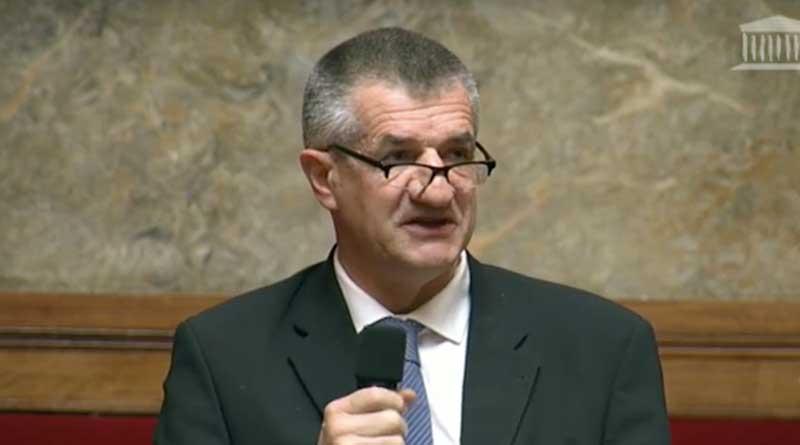 Jean Lassalle à l'Assemblée Nationale