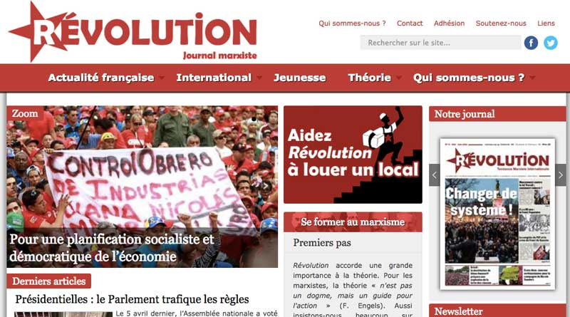 bimestriel Révolution