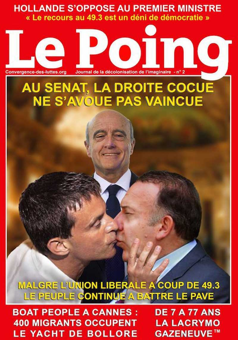 Le Poing n°2 recto