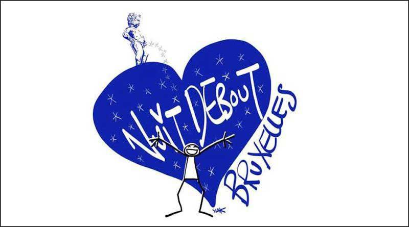 Logo Nuit Debout Bruxelles