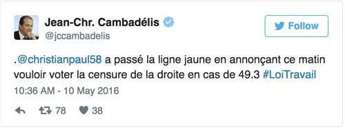 Twitter de Cambadélis