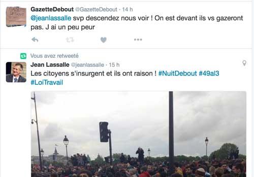 Tweet Jean Lassalle