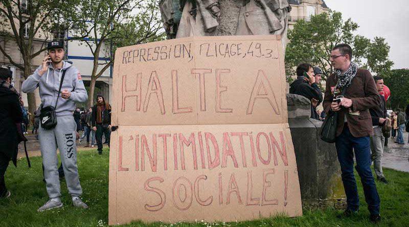 Manifestation 12 mai 2016