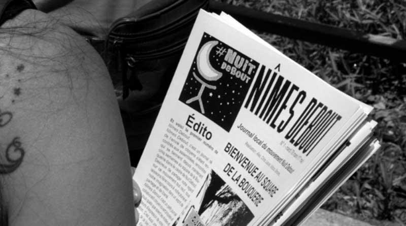 Journal de Nîmes Debout