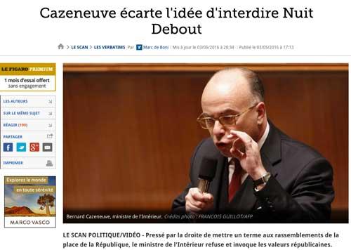 revue Bernard Cazeneuve