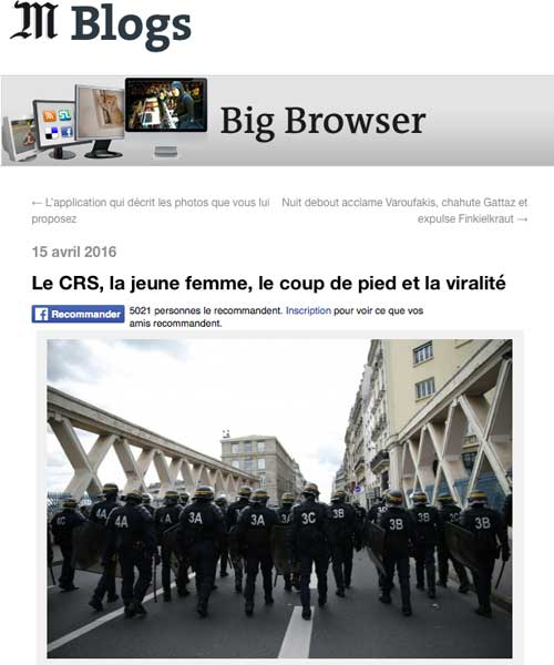 Revue 6mai Le Monde Blogs