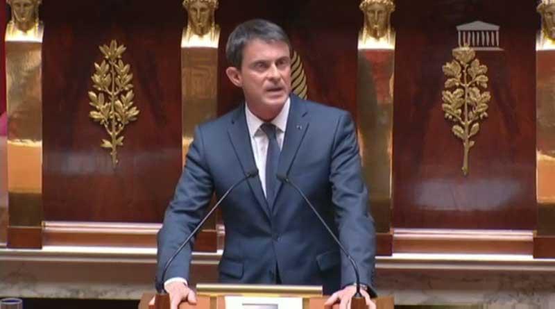 Valls à l'Assemblée Nationale