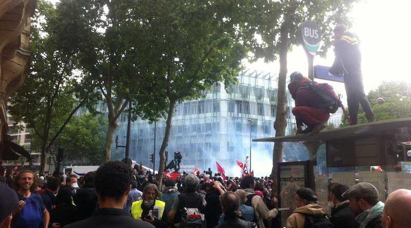 Manifestation du 14 juin 2016