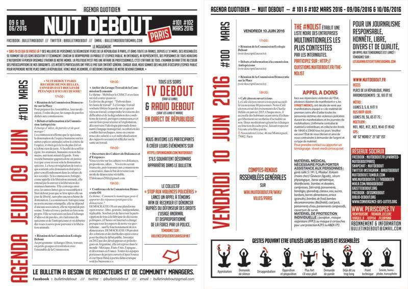 Bulletin Debout #101mars-#102mars