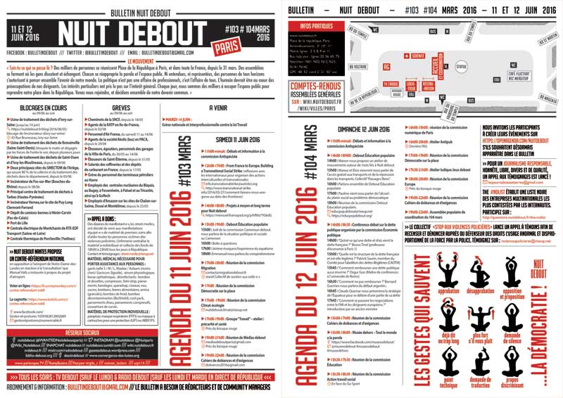 Bulletin Debout #103mars-#104mars