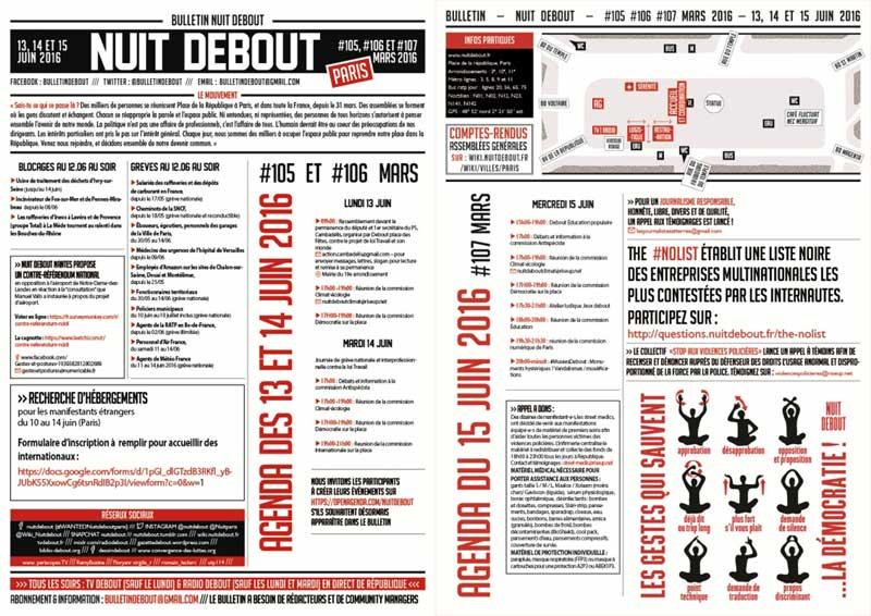 Bulletin Debout #105mars-#106mars-#107mars