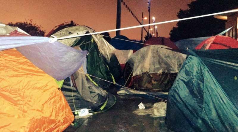 Les tentes du jardin d'Eole