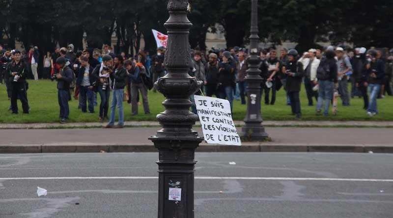 Slogans  de la manifestation du 14 juin 2016