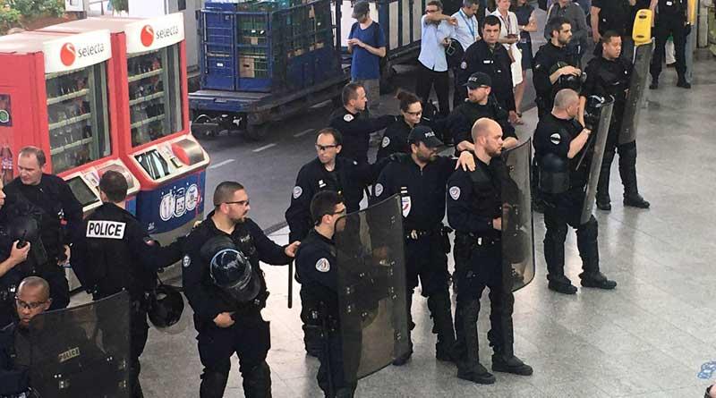 Manif 23 juin 06 Gare de Lyon