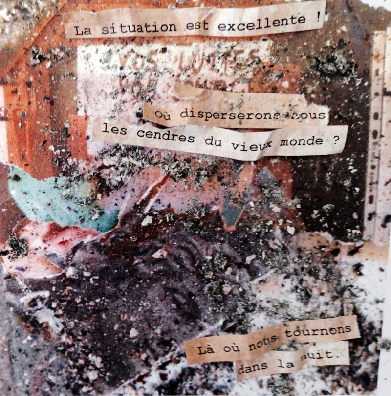 Collages / Stephanie Pouech