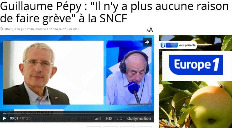 Ecoutez le patron de la SNCF en cliquant ici