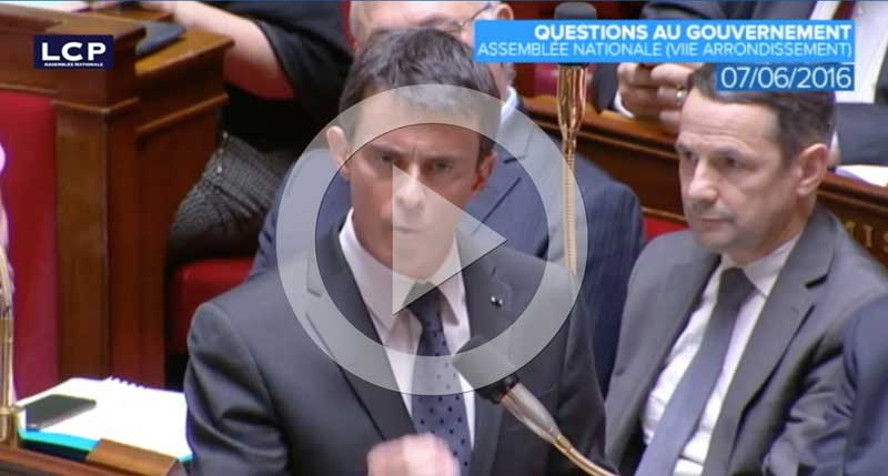 Ecoutez Manuel Valls en cliquant ici
