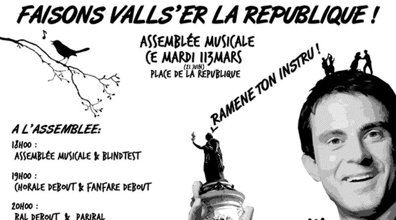 """""""En musique, faisons valser la République"""