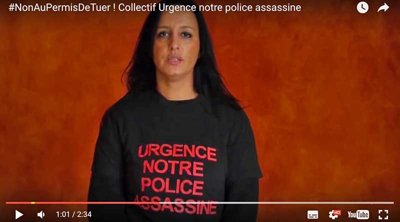 Coolectif Urgence Police assassine