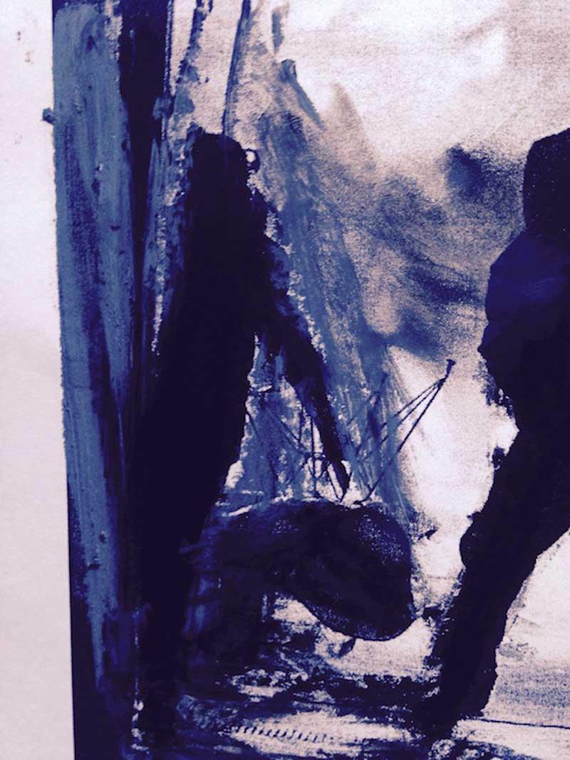 Collage Stéphanie Pouech