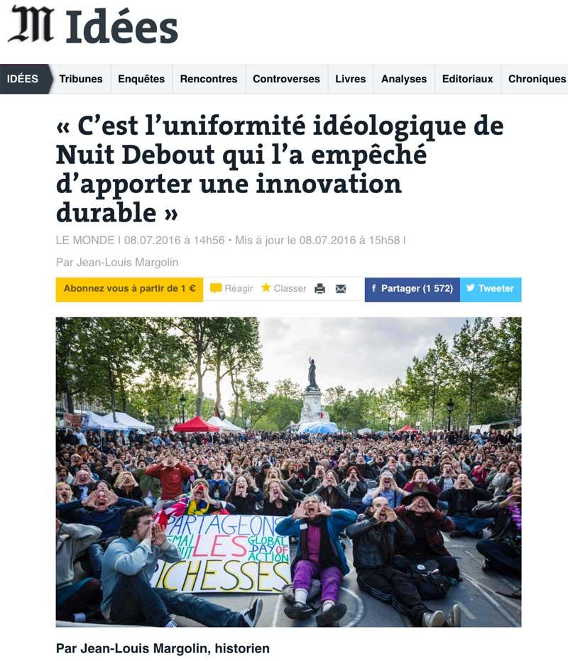 Revue 10juillet - Le Monde