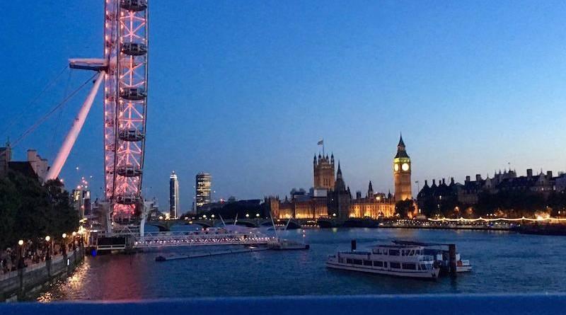 Nuit Debout à Londres.