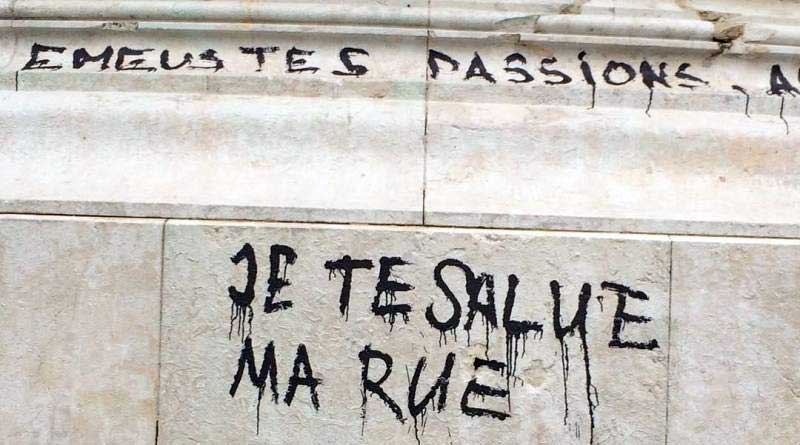 Slogan Je te salue ma rue