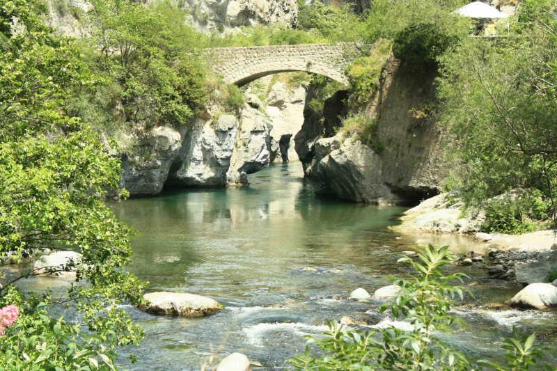 Pont sur La Roya
