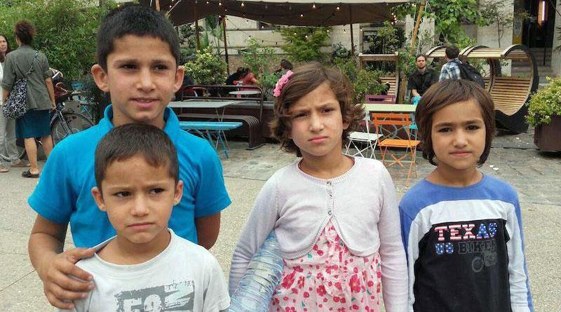 Les enfants afghans à Stalingrad