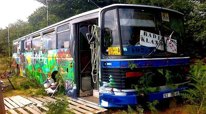 Le bus de Radio Klaxon